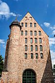 Michaeliskloster, west side, brick gothic, Rostock , Mecklenburg-Vorpommern