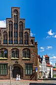Standesamt, registry office, brick gothic, Rostock , Mecklenburg-Vorpommern
