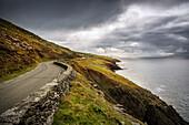 road at Slea Head Viewpoint, Dingle Peninsula, Slea Head Drive, County Kerry, Ireland, Wild Atlantic Way, Europe