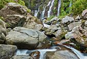 waterfall Cascade de la Réunion, France Grande Ravine, Langevin, Reunion, France