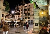 Piazza delle Erbe, Verona, Veneto, Italien