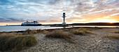 Leuchtturm Friedrichsort, Kieler Förde, Ostsee, Friedrichsort, Kiel, Schleswig-Holstein, Deutschland