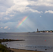 laboe, kiel fjord, baltic sea, friedrichsort, kiel, schleswig-holstein, germany