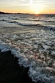 Sunset over Baltic Sea, Kellenhusen,  Schleswig Holstein, Germany