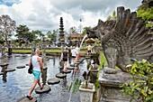 Tirta Gangga water palace, a former royal palace. Karangasem regency, Bali, Indonesia.