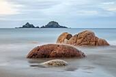 Porth Nanven, Cornwall, England, United Kingdom.