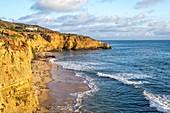 Sunset Cliffs Natural Park. San Diego, California.