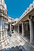 Jain Temple, Ranakpur, Pali, Rajasthan, India, Asia