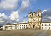 The monastery of Alcobaca, Mosteiro de Santa Maria de Alcobaca, listed as UNESCO world heritage site. Europe, Southern Europe, Portugal.