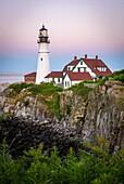 Portland Head Lighthouse, Cape Elizabeth, Maine.