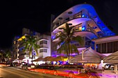 BARS HOTELS OCEAN DRIVE SOUTH BEACH MIAMI BEACH FLORIDA USA.