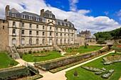 Vannes, Hermine Castle, Morbihan, Bretagne, Brittany, France, Europe.