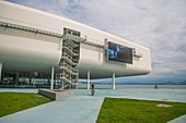 Botin Center, by Renzo Piano. Santander, Spain.