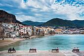 .Cefalù, Palermo Province, Sicily, Italy