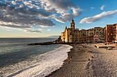 Camogli, Liguria, Italy.