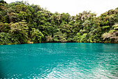 JAMAICA, Port Antonio. The Blue Lagoon.