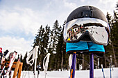 helmet, skiing, winter, Schladming, Austria, Europe