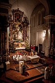 Stille Nacht, heilige Nacht, Gottesdienst, Weihnachten, Oberndorf, katholisches Brauchtum, Weihnachtszeit, christliches Brauchtum, Österreich, Europa