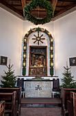 Altar, Stille Nacht, Museum, Kapelle,  katholisches Brauchtum, Weihnachtszeit, christliches Brauchtum, Oberndorf, Österreich, Europa