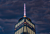World Trade Center And Antenna At Twilight; New York City, New York, United States Of America