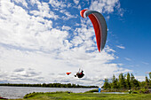 Paragliding Instruction Class, Alaska, USA
