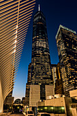 World Trade Center Near The Oculus; New York City, New York, United States Of America