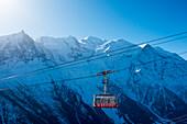 Brevent Tram, Brevent-Flegere Ski Area; Chamonix, France