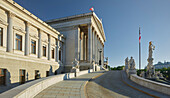 Parliament, 1. District of the inner city, Vienna, Austria