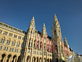 town hall, 1. District of the inner city, Vienna, Austria