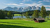 Schwarzsee, Wilder Kaiser, Kitzbühel, Tyrol, Austria