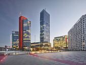 Andromeda Tower, Meliá Tower, Bruno Kreisky Park, 22. Danube City District, Vienna, Austria