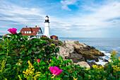 Portland Head Lighthouse, Cape Elisabeth; New England, Maine; USA