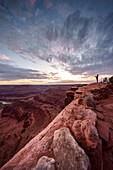 Sunset at Dead Horse Point State Park; Moab; Utah; Usa