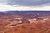 Green River Overlook, Canyonlands National Park, Moab, Utah, Usa