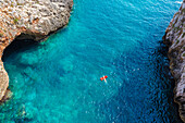 Gagliano del Capo, province of Lecce, Salento, Apulia, Italy, View from Ciolo bridge