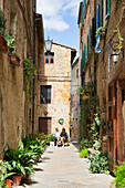 Europe,Italy,Tuscany,Siena district,Orcia Valley,Pienza