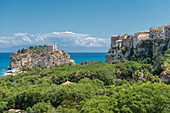 Tropea, province of Vibo Valentia, Calabria, Italy, Europe, Sanctuary of Santa Maria Island