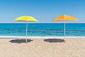 Tropea, province of Vibo Valentia, Calabria, Italy, Europe, The beach del convento
