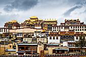 Ganden Sumtseling Monastery, Zhongdian, Shangri-La County, Yunnan Province, China, Asia, Asian, East Asia, Far East