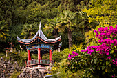 Little pagoda at Mufu Palace, Lijiang, Yunnan Province, China, Asia, Asian, East Asia, Far East