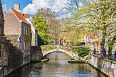 The old town of Bruges, Belgium
