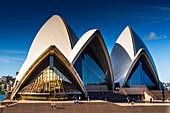 Iconic Sydney Opera House, UNESCO World Heritage Site, Sydney, New South Wales, Australia, Pacific