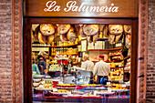 Bruno e Franco - La Salumeria Bologna, butcher shop at via Guliermo Oberdan, Bologna, Emilia-Romagna, Italy, Europe