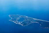 Aerial view of Long Island, NYC, New York City, United States of America, USA, North America