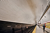 NY Subway station at 5th Ave, underground, Manhattan, NYC, New York City, United States of America, USA, North America