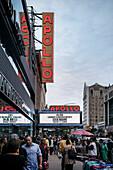 Apollo Theater in Harlem, Manhattan, New York City, Vereinigte Staaten von Amerika, USA, Nordamerika