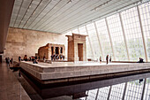 Egyptian Temple inside the Metropolitan Museum of Art, 5th Ave, Manhattan, NYC, New York City, United States of America, USA, North America