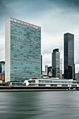 United Nations Headquarters, Manhattan, NYC, New York City, United States of America, USA, North America