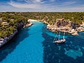 Cala Llombards, Santanyí, Mallorca, balearic islands, spain, europe.