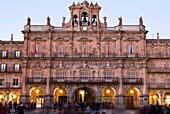 Plaza Mayor. Salamanca. Castilla-León. España. Europa.